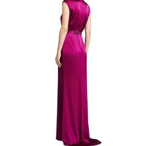 St. John Collection Liquid Satin Gown